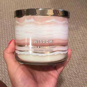 Wisdom candle